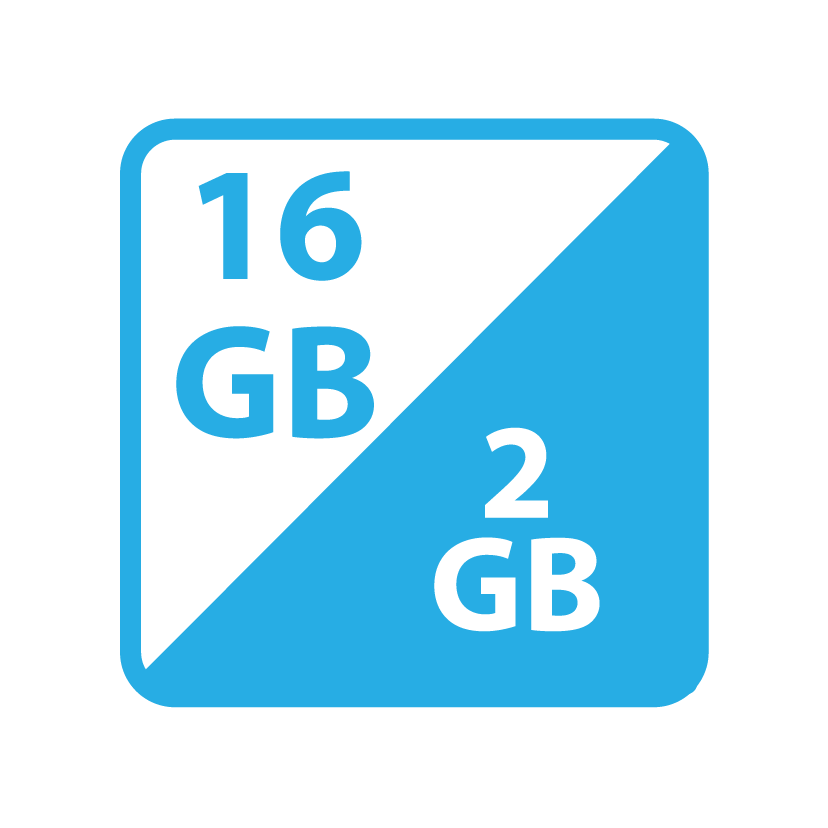 16GB+2GB